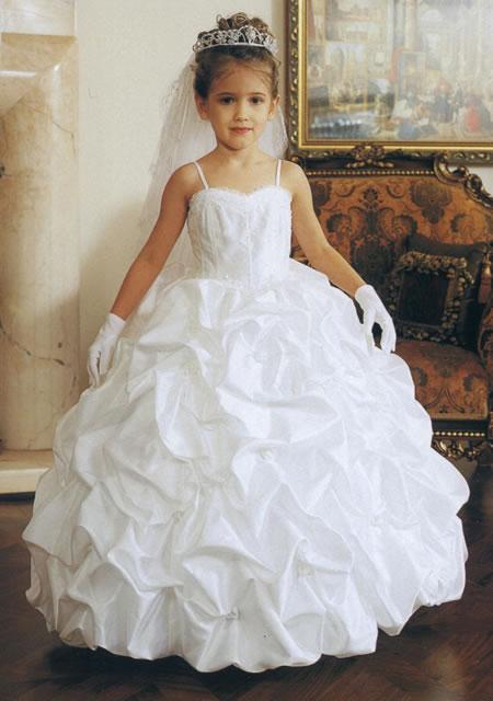Girls Pageant Dresses Mb621 White Formal Spot